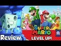 Super Mario Level Up Board Game Review with Tom Vasel