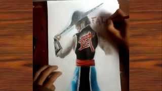 Como Dibujar a kung Lao / How To Draw Kung Lao