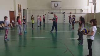 ТИШКИН Д.А. Урок физкультуры. 4 класс