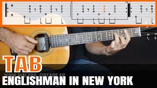 Englishman In New York Guitar Tab