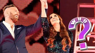 Maria & Mike made a surprise appearance at Money In The Bank, but w...