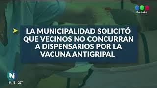 Recomendaciones de la municipalidad, sobre la aplicación de la vacuna antigripal