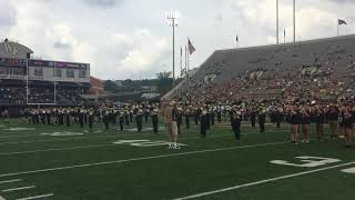 Wake Forest Band Day Halftime Performance
