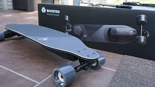 Boosted Stealth Unboxing