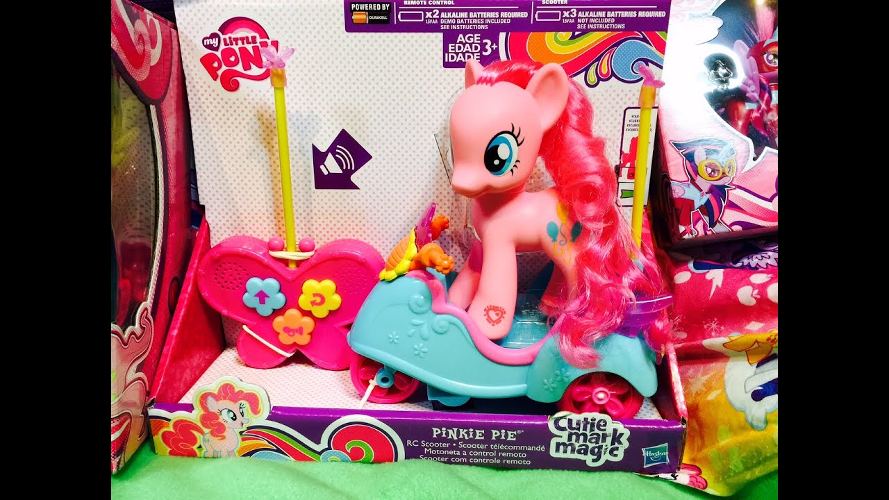 bf7a7d51f14 NEW Pinkie Pie My Little Pony Remote Control Scooter MLP Cutie Mark Magic  Zapcode