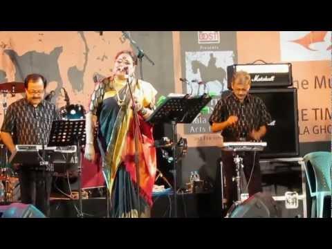 Usha Uthup @ Kala Ghoda fest 2013