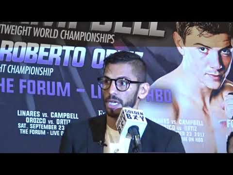 (Impressive) Jorge Linares Final Words To Campbell In 3 Languages EsNews Boxing