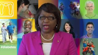 Dr. Carissa F. Etienne, Director of PAHO: Step up, beat diabetes. World Health Day 2016