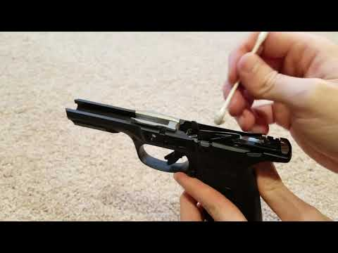 How to clean a Ruger 9E