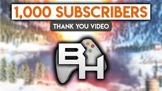 One Thousand Subscribers