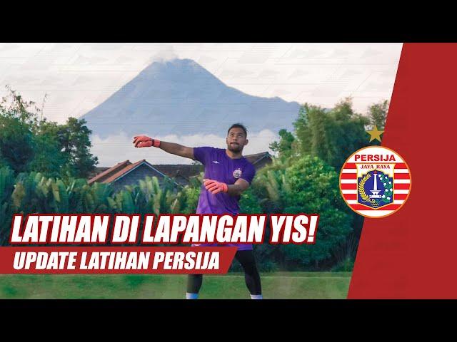 Latihan Persija Jakarta di Lapangan Sepak Bola YIS | Update Latihan Persija
