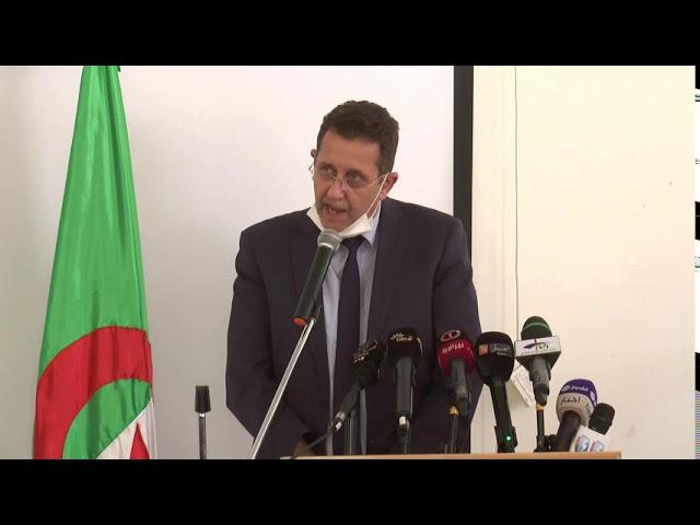 كلمة وزير الفلاحة السيد عبد الحميد حمداني على هامش إطلاق الحملة الوطنية للانتساب إلى كازنوص 09/09/20