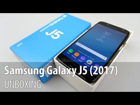 Samsung Galaxy J5 (2017) Unboxing în Limba Română
