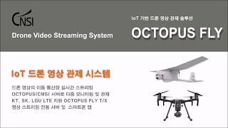 CNSI IoT 드론 영상 관제 시스템
