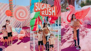 Sugar Rush Outdoor Walk Through Experience With Kids