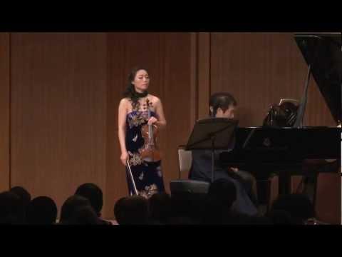 C.Franck/Violin Sonata A major 1st movement   劉薇(Liu Wei)