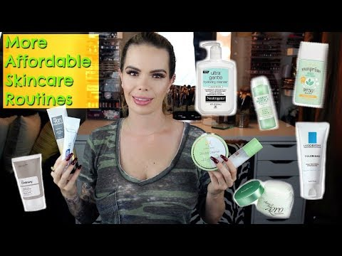 More Affordable Skincare Routines   Dry   Oily   Rosacea   Teen
