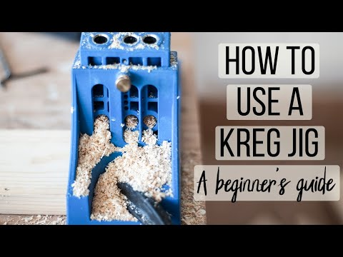 How To Use A Kreg Jig For Beginners - Step By Step