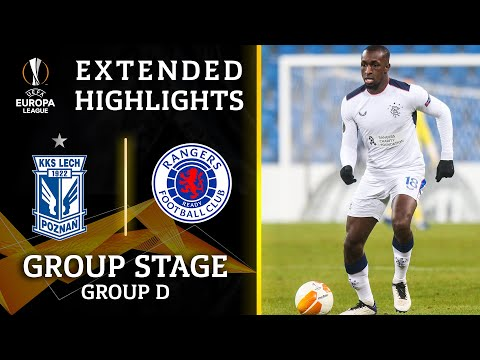 Lech vs. Rangers: Extended Highlights | UCL on CBS Sports