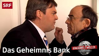 Das Geheimnis Bank | Giacobbo / Müller | SRF Comedy