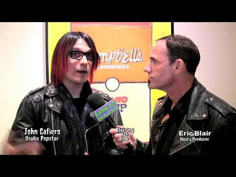 John Cafiero Talks with Eric Blair  Dee Dee Ramone,Osaka Popstar & Misfits Live Album,