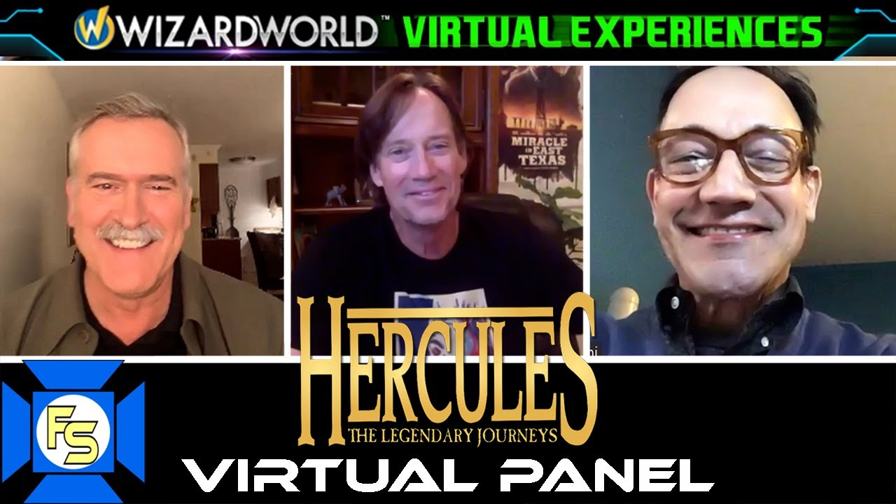 Download HERCULES: The Legendary Journeys Panel – Wizard World Virtual