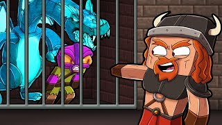 Minecraft Dragons - FIRE NATION JAILS MY BROTHER!