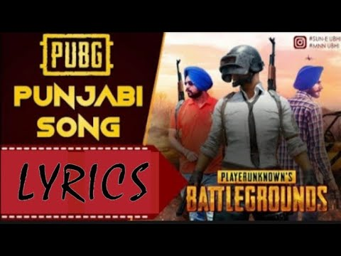 pubg official song lyrics