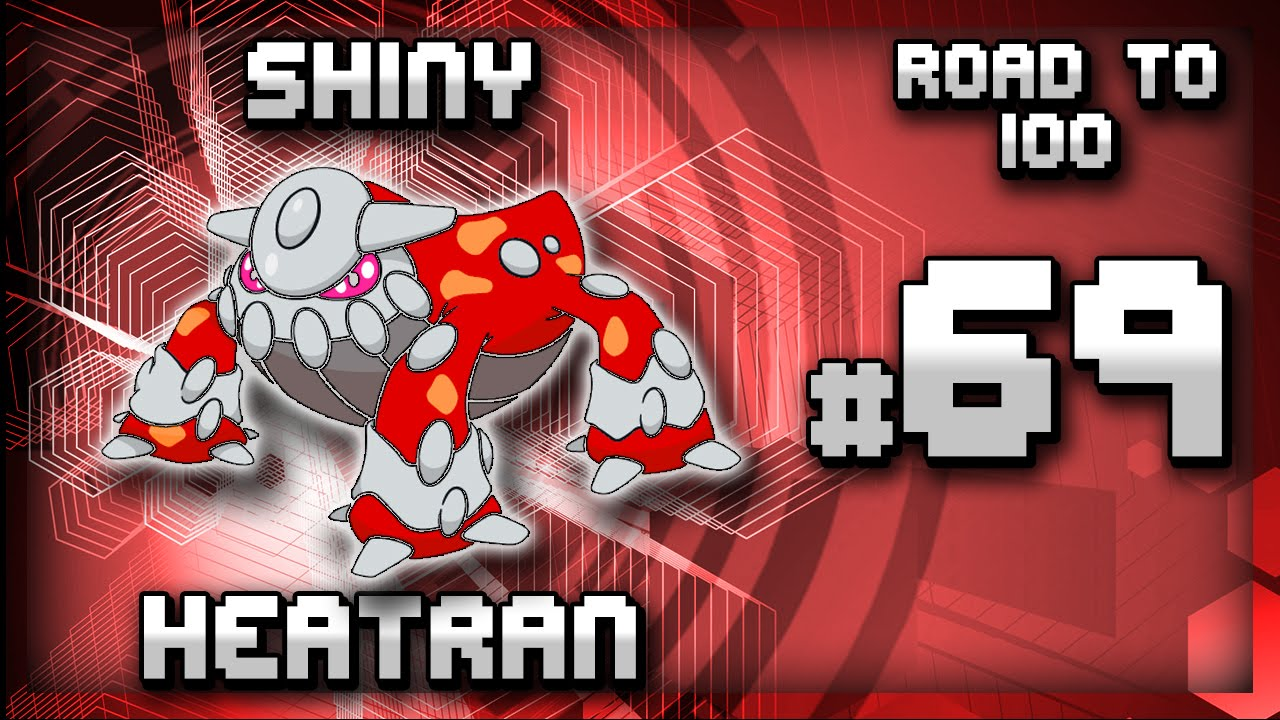 Shiny Heatran 69 Road To 100 Soft Reset Shiny