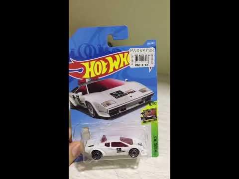 Hot wheels Review Lamborghini Countach Pace Car