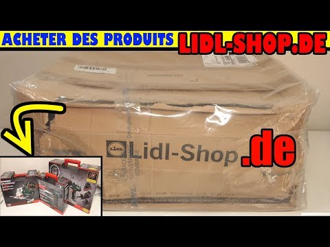 Acheter sur LIDL-SHOP.DE LIDL.DE Allemagne méthode de A à Z, j'ai acheté 3 produits PARKSIDE