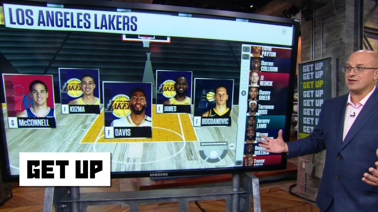 Download How the Lakers fill out the roster after trading Lonzo, Ingram and Hart to the Pelicans | Get Up