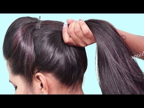 Easy Party hairstyle for beginners step by step ★ hair style girl ★ Best Hairstyles for long hair thumbnail