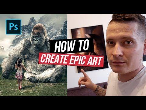 Huge Gorilla - Photoshop Manipulation Tutorial thumbnail