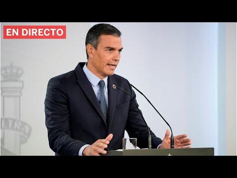 Pedro Sánchez comparece para explicar el estado de alarma