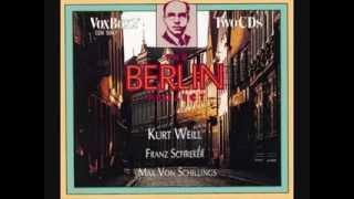 Kurt Weill  - Die Moritat von Mackie Messer