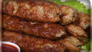 """""""Люля кебаб"""" из свинины, в духовке"""