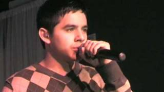 David Archuleta Oh Holy Night at Hollywood VIP Tree Lighting