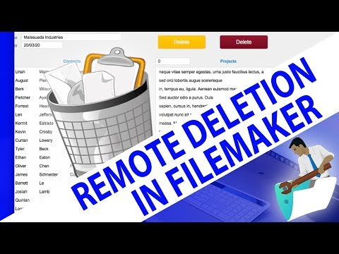 Remote Deletion in FileMaker