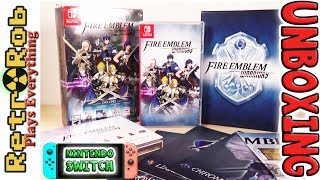 Fire Emblem Warriors Special Edition Nintendo Switch Unboxing and Thoughts