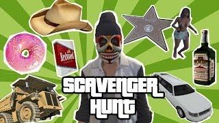 GTA Online Scavenger Hunt - Challenge Oxbox
