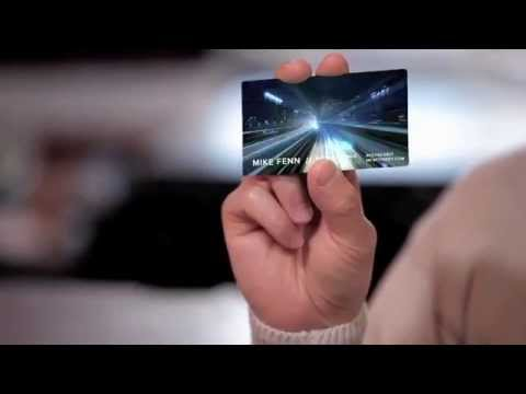The Best Business Cards - LCD Video Business Cards (April Fools 2014)