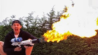 THIS FLAMETHROWER IS AMAZING!!