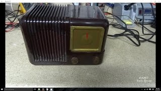 Repair of A 1952 Trav-ler Model 5171 AA5 Tube Radio