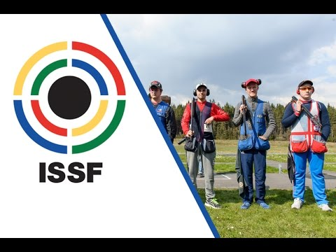 Double Trap Men Junior Final - 2016 ISSF Junior World Cup in all events in Suhl (GER)