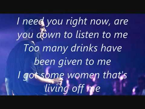 Drake - Marvins Room (Lyrics)