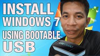 HOW TO install windows 7 using usb flash drive