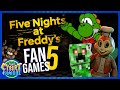 Gambar cover FNAF Fan Games 5: The Freddy Files, Jollibees Phase 2, & More 🔴 That Cybert Channel
