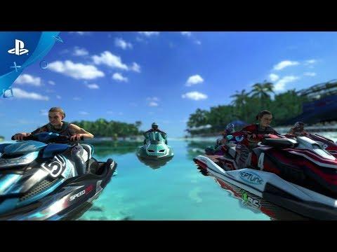 Aqua Moto Racing Utopia - Official Trailer | PS4