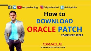 HOW TO DOWNLOAD ORACLE CPU & PSU PATCHES STEPS BY STEPS